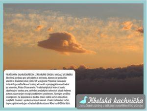 Pražským zahrádkářům zachrání úrodu voda zvesmíru