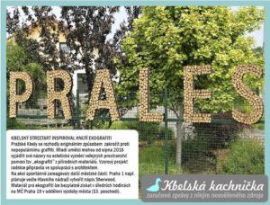 Kbelský streetart inspiroval pražské hnutí ekografiti