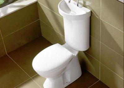 Caroma - kombinace umyvadla a WC